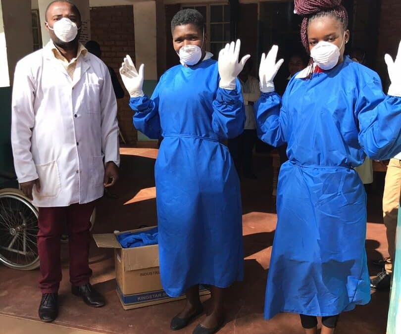 Malawi National Lockdown and our Urgent PPE Appeal